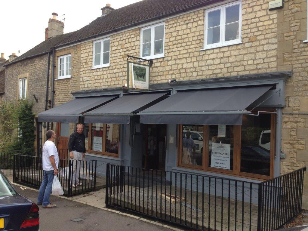 The Old Butchers Stow In The Wold Radiant Blinds Ltd