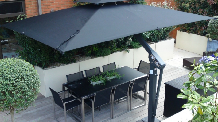 Giant Umbrellas Patio Supplies By Radiant Blinds Amp Awnings