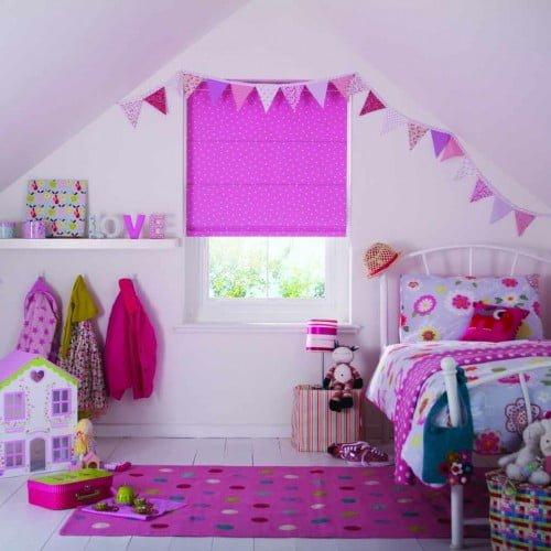 Roman Blind for Child's Bedroom