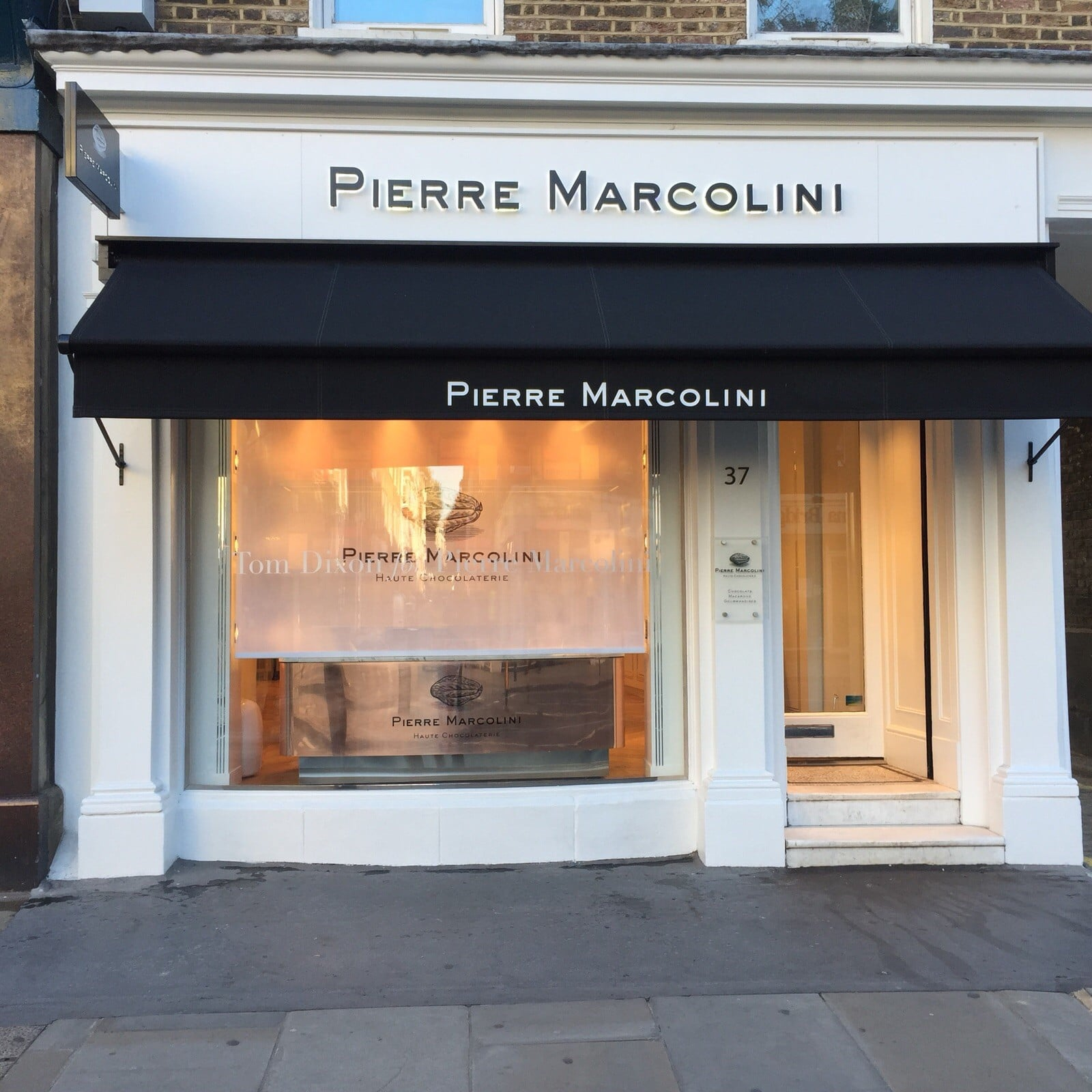 Pierre Marcolini Marylebone High Street London Radiant