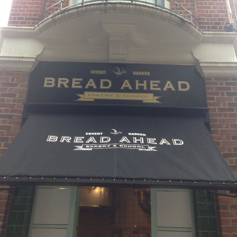 Bread Ahead Awning Recover Wc2 Radiant Blinds Ltd
