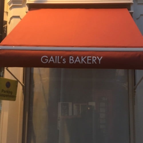 Gail S Bakery Traditional Awning St Albans Radiant Blinds Ltd