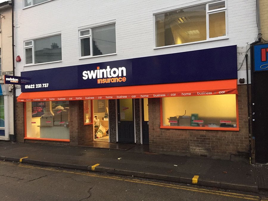 Swinton Insurance Birmingham Fixed Frame Awning