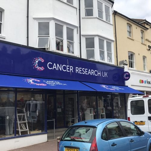 Cancer Research Bexhill Radiant Blinds Ltd
