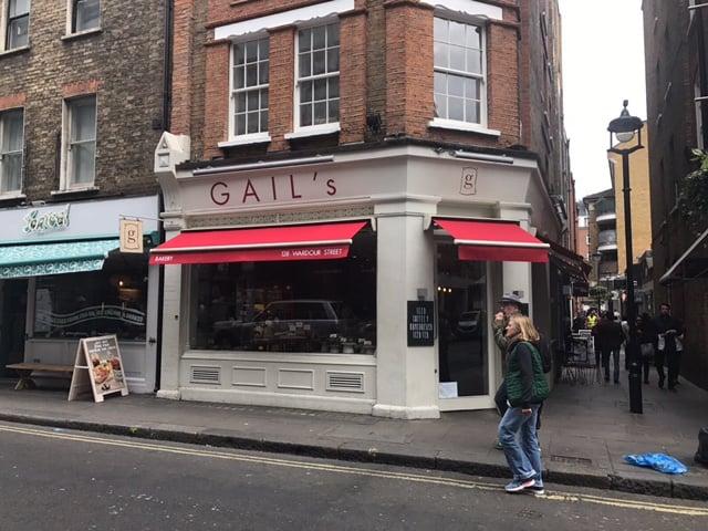 Gail S Bakery Soho Radiant Blinds Ltd