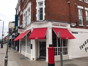 Franco Manca Putney Commercial Awnings