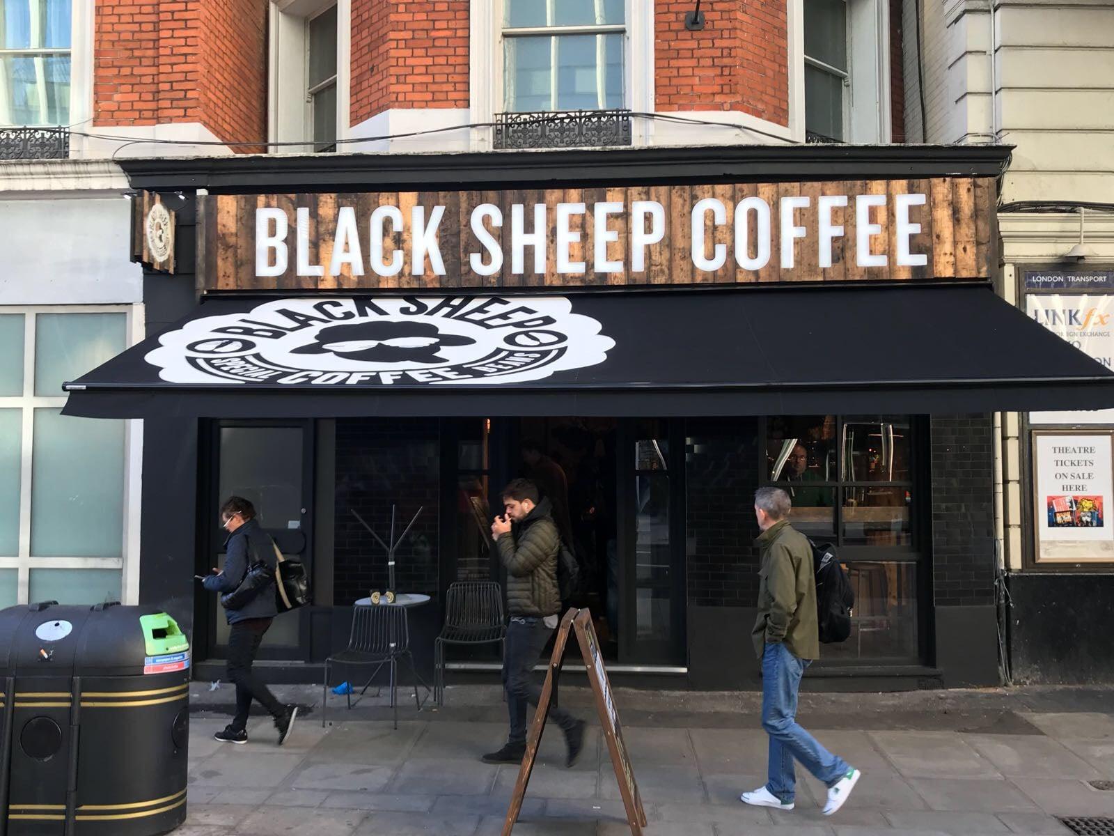 Black Sheep Coffee London Radiant Blinds Ltd