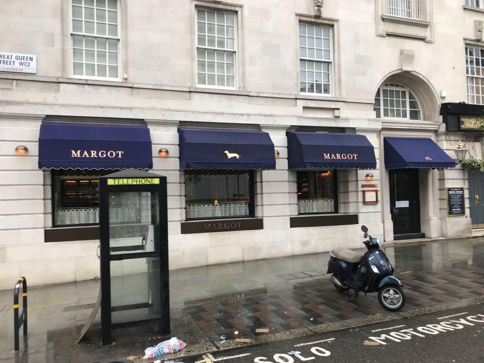 Margot Covent Garden Radiant Blinds Ltd