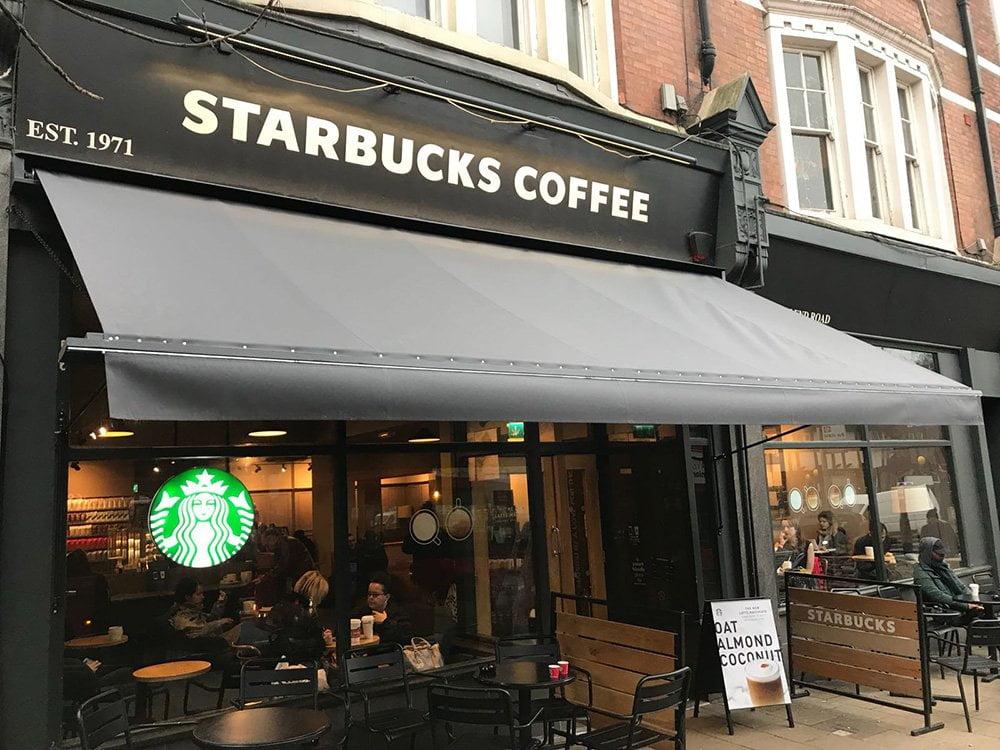 Starbucks Radiant Blinds Ltd