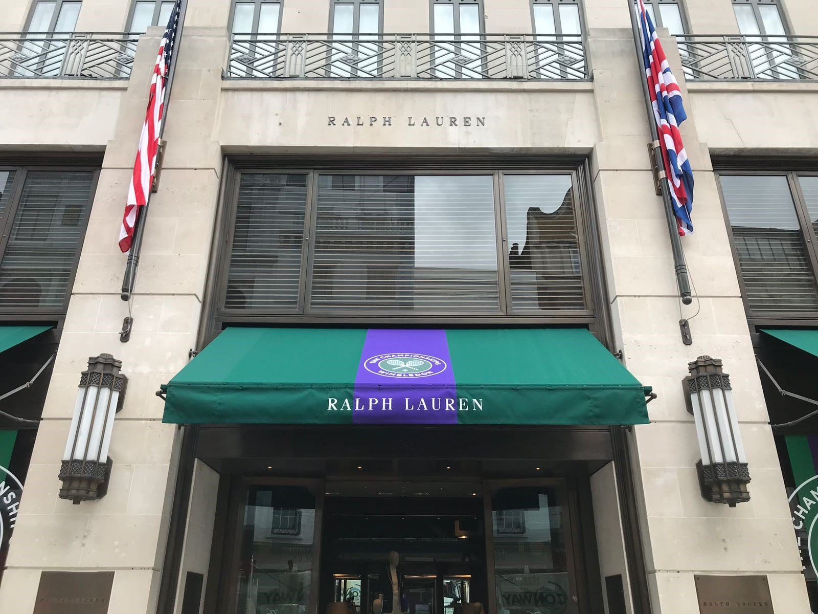 Ralph Lauren New Bond Street London Radiant Blinds Ltd