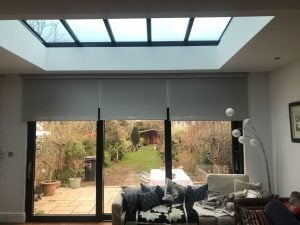 Electric Roller Blinds Tiger Cookie Mayfair London