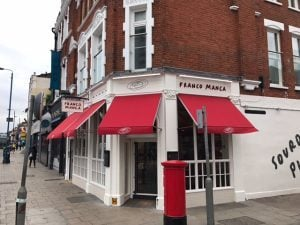 Electric Awnings for Franco Manca