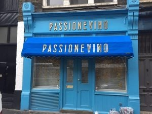 Electric Awnings for Passione Vino