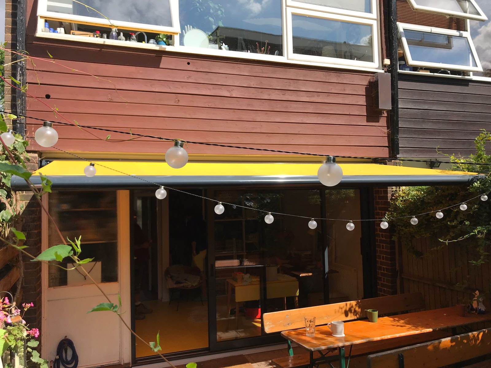 End Fixed Awning Radiant Blinds Ltd
