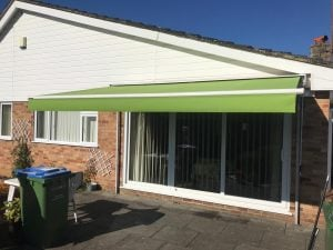 Topas Folding Arm Weinor Awnings