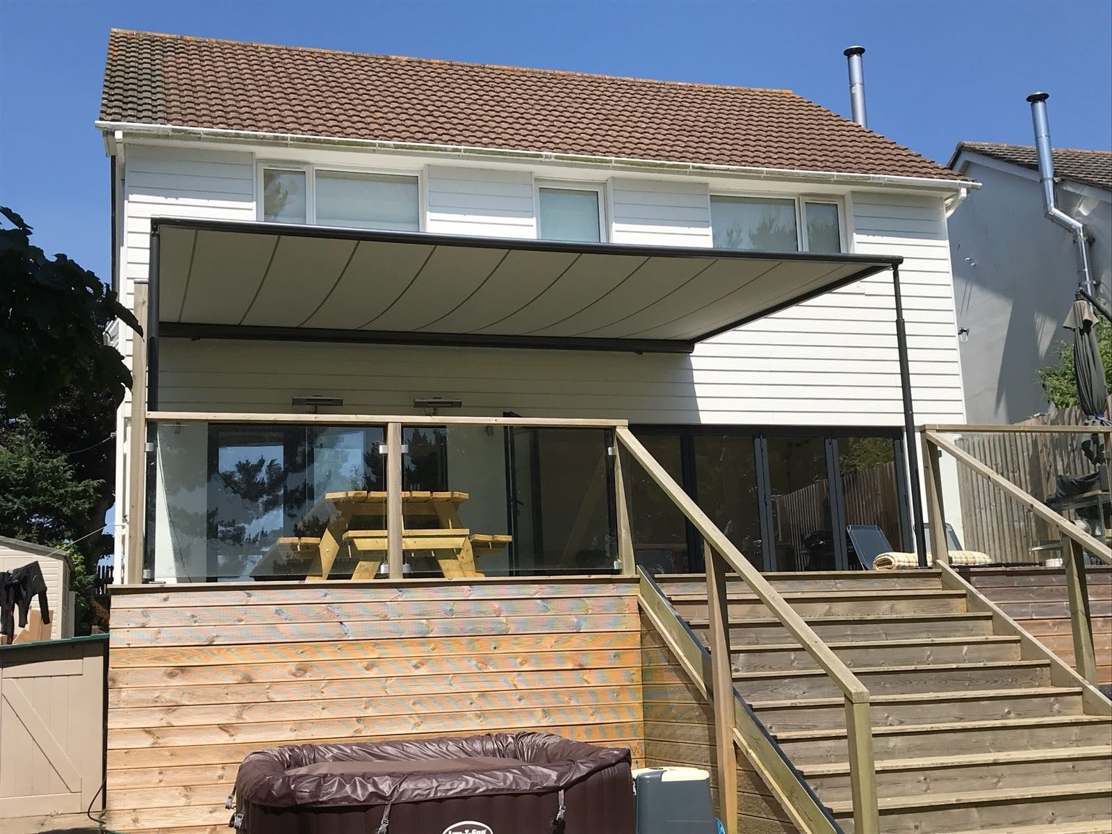 Markilux Pergola System Project Radiant Blinds Ltd