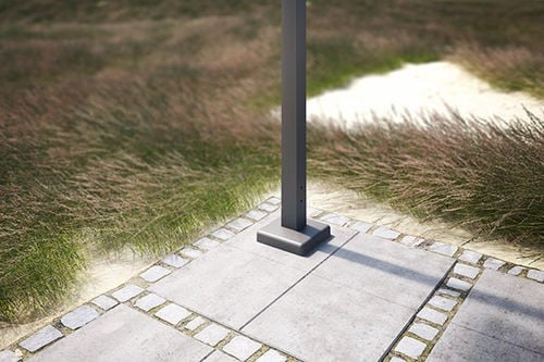 Markilux pergola Square support / baseplate covers