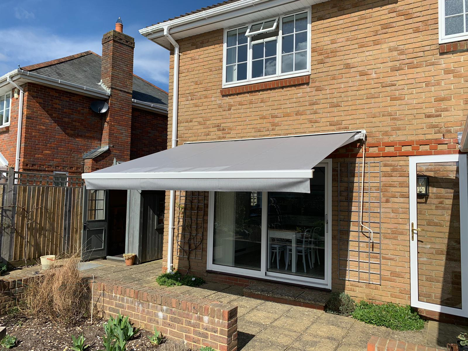 Patio Awning For South Facing Garden Radiant Blinds Ltd