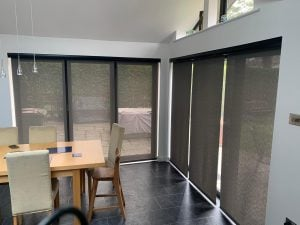 Bi-Fold Battery operated blinds
