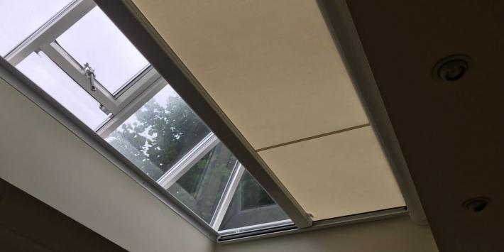 Electric Blinds For Roof Lanterns Radiant Blinds Ltd