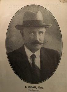 John Dean Fulham Chairman 1925
