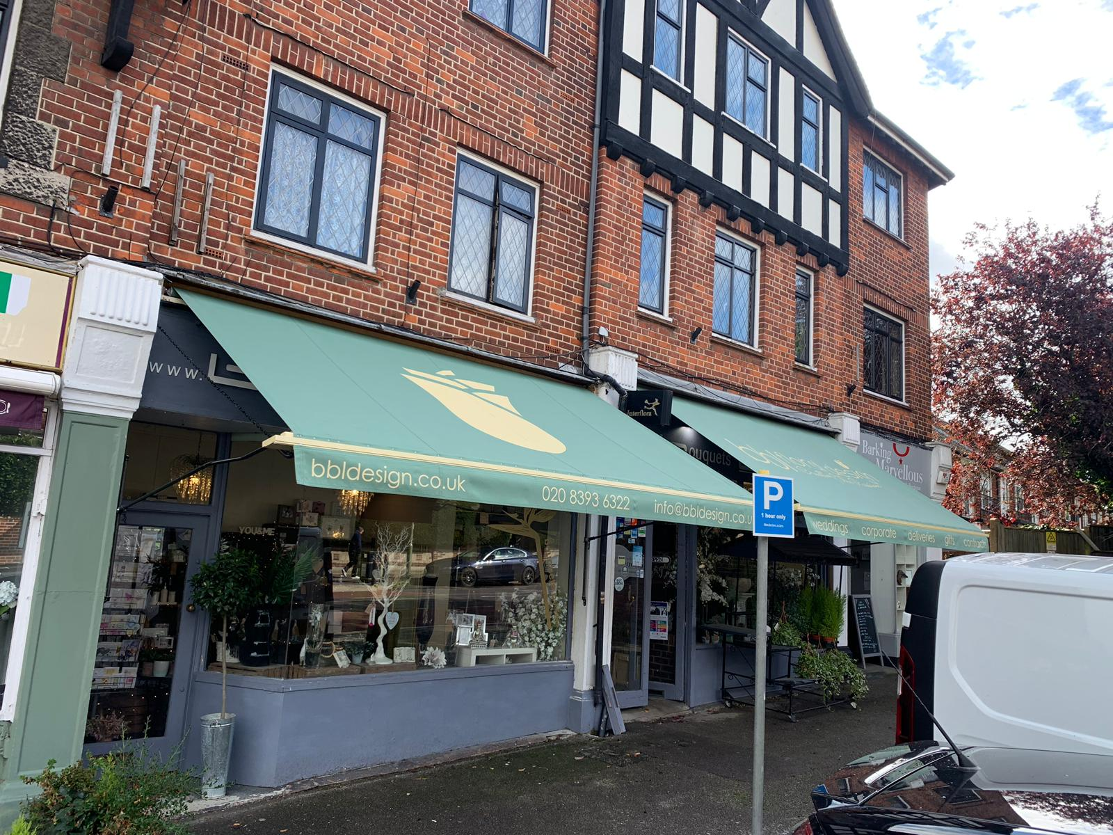 Traditional Victorian Awnings Bbl Floral Design Ewell