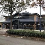 Wagamama – Stevenage – Giant Umbrellas