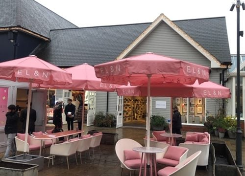 Umbrella Covers for Elan - Bicester Village - Oxfordshire