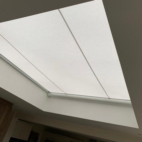 Retractable Roof Lantern Blind