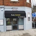 Folding Arm Awnings Surrey – Los Arcos Restaurant